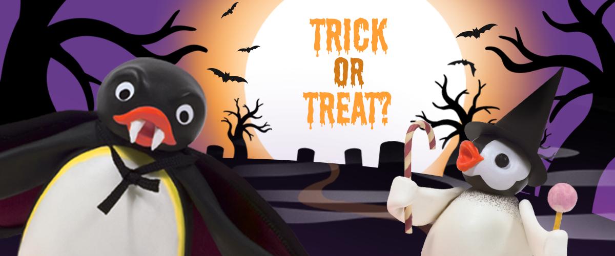 <span>Festeggia Halloween</span> con Pingu's English