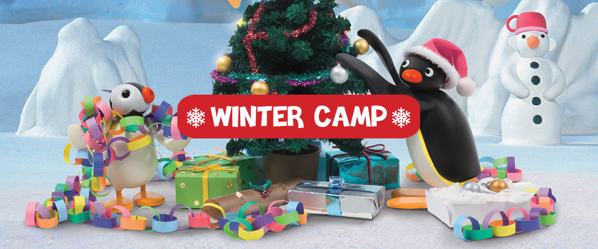 Festeggia il <span>Natale con Pingu</span>: partecipa ai nostri <span>Winter Camp</span>