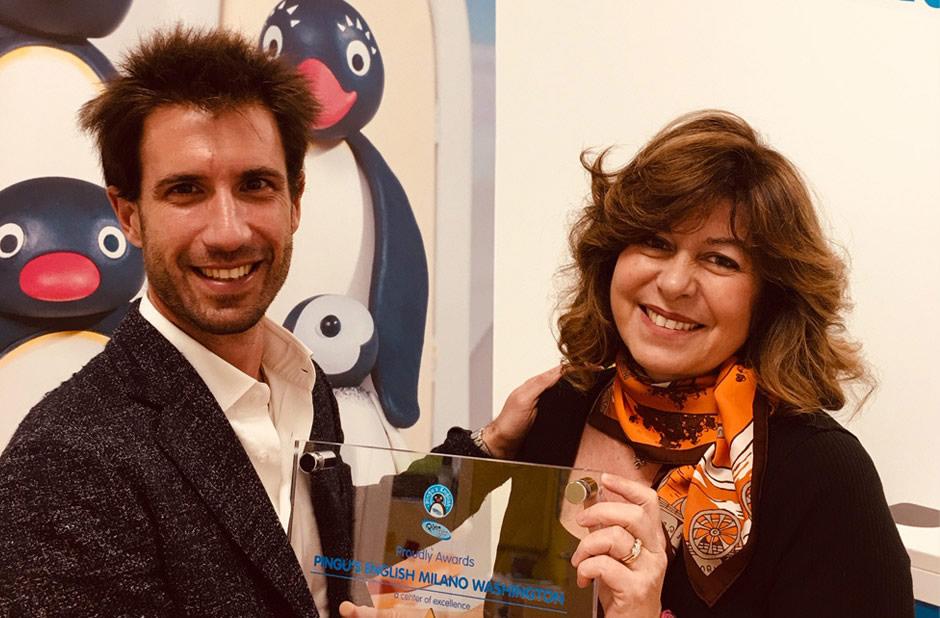 Pingu's English Italy premia i primi <span>5 centri di eccellenza</span>.