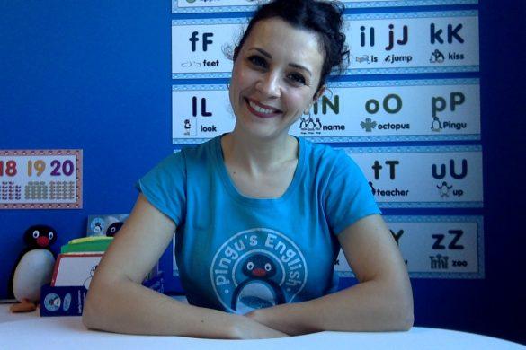 Alessandra, insegnante di Pingu's English Ancona