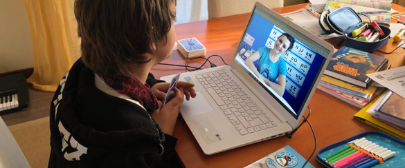 Inglese online per i bambini