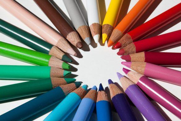 Insegnare ai bambini i colori in inglese