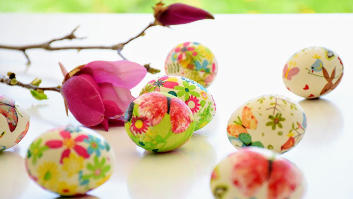Decoriamo insieme le <span>uova di Pasqua</span>.