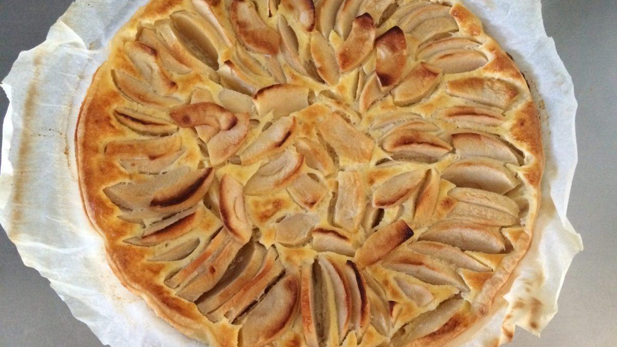 In cucina con Pingu: la tradizionale <span>Apple Pie</span>.