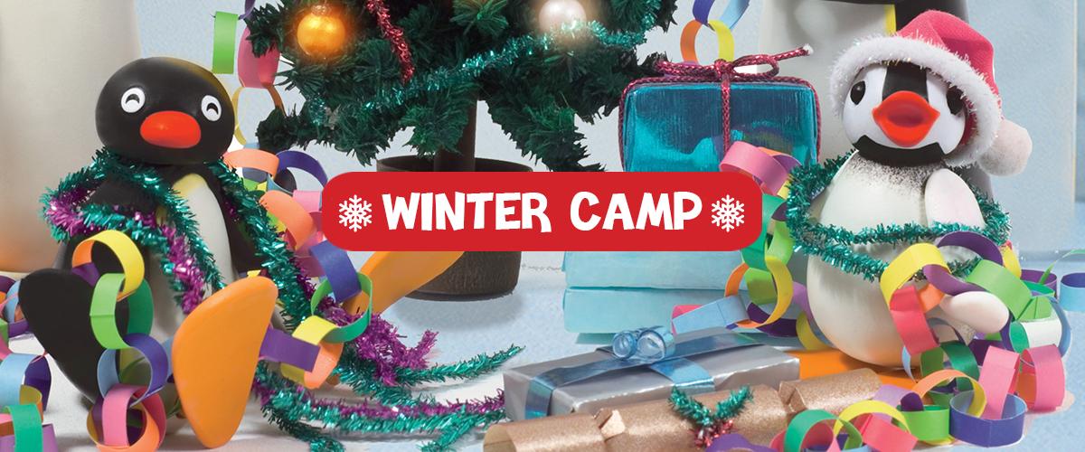 Festeggia il <span>Natale con Pingu</span>: partecipa ai nostri <span>Winter Camp</span>.