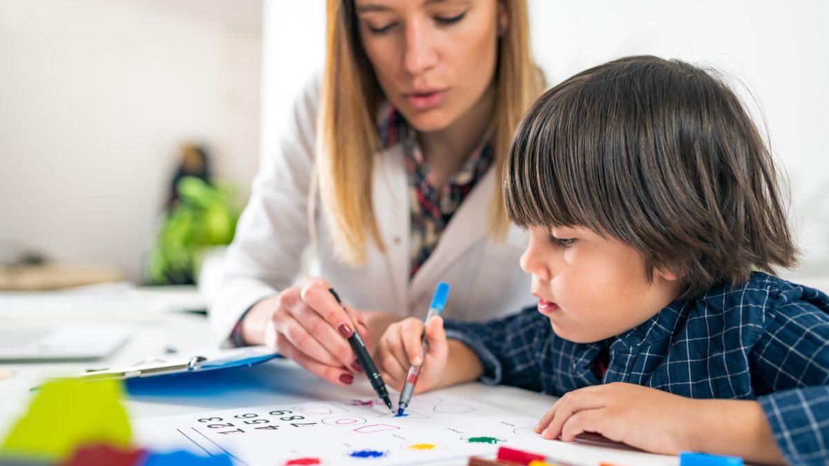 Insegnare ai bambini <span>le parti del corpo in inglese</span>.