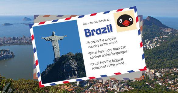 Travel with Pingu: Brazil