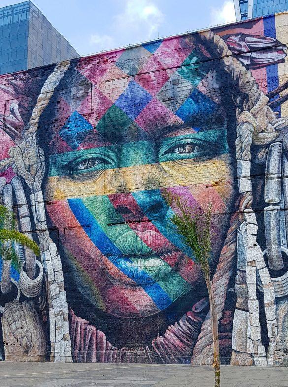 Murale a Rio de Janeiro