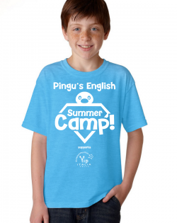 T-shirt dei Pingu's English Summer Camp